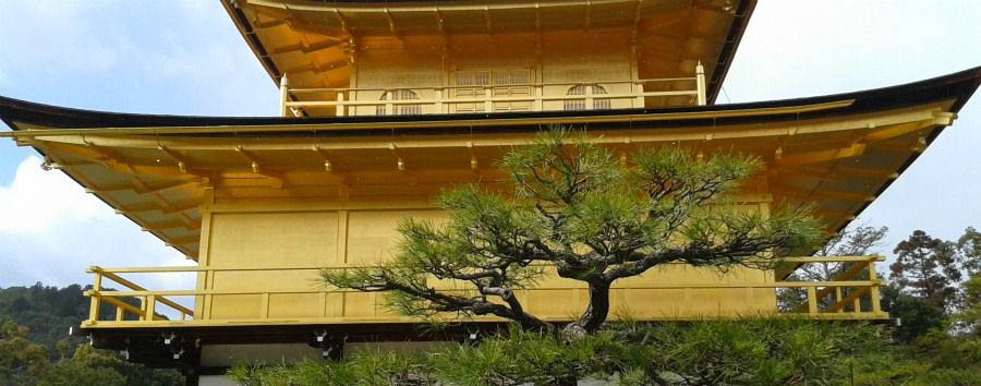 Japan - Kyoto, Kinkaku-ji Temple, The Golden Pavilion