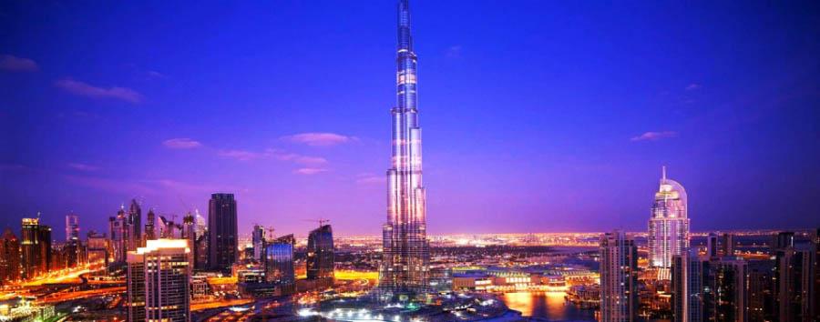 Da Dubai ad Abu Dhabi - Dubai Skyline