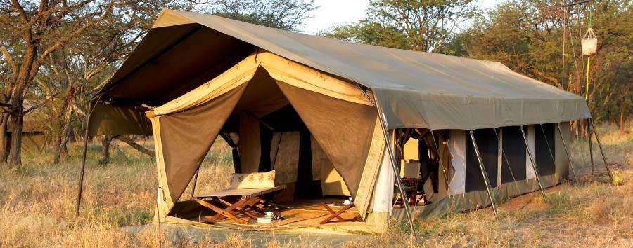 Olakira Camp - Tent exterior