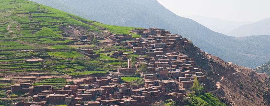 Marrakech à La Sultana - vallé d'Asni