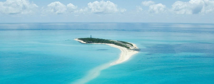Mozambique - Medjumbe Private Island Aerial View