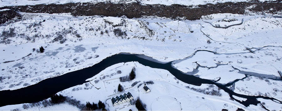 Iceland - Thingvellir National Park, Aerial View - Courtesy of Iceland Travel