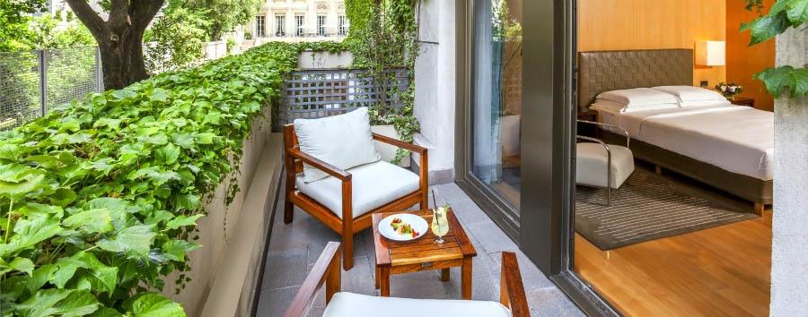 Park Hyatt Palacio Duhau - Deluxe Room Balcony