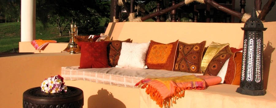 Tijara Beach - Outdoor relax area