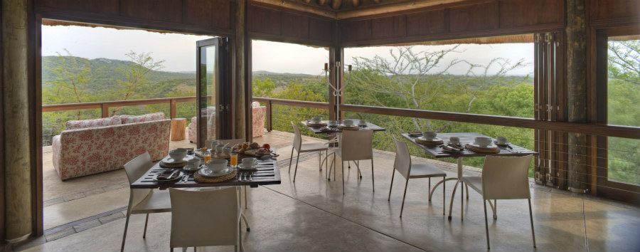Phinda+Mountain+Lodge+-+Dining+Area
