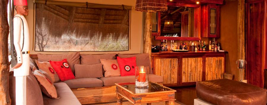 Onguma Treetop Camp - Lounge
