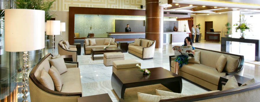 Auris Plaza Hotel - Hotel lobby