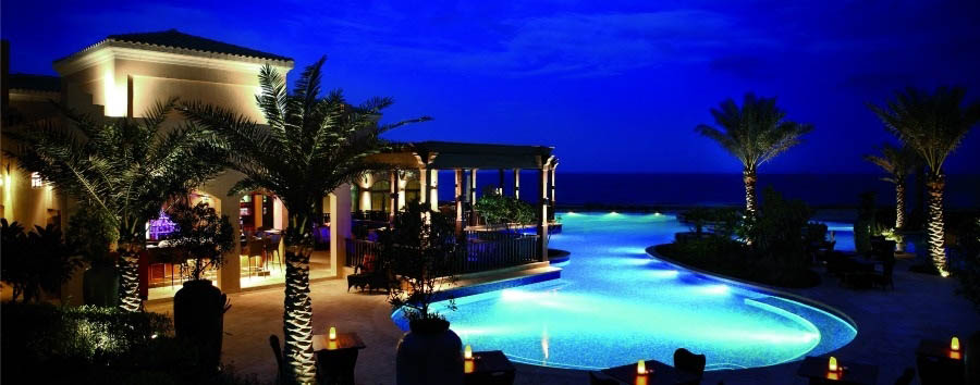 Desert Islands Resort & Spa by Anantara - Swimming Pool at night