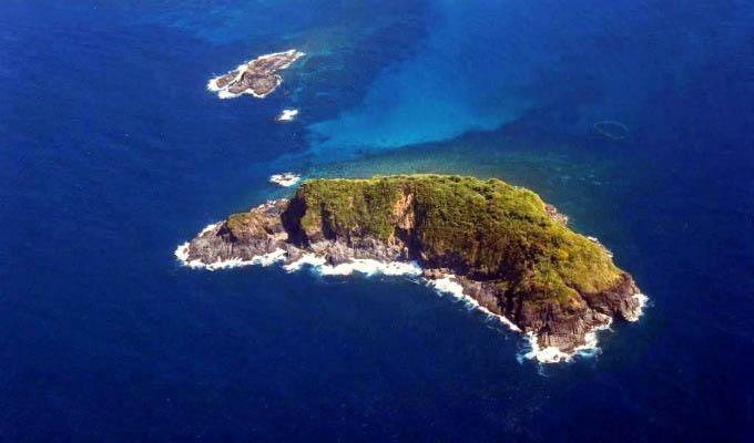 Palawan, El Nido Island Aerial View - Philippines