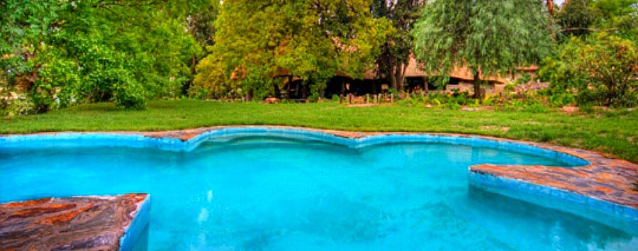 Botswana+-+Pool+in+Thamalakane+River+Lodge