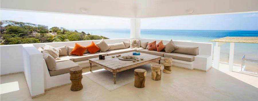 Villa Santorini: Jewel of Vilankulos - Mozambique Villa Santorini, View from The Private Balcony