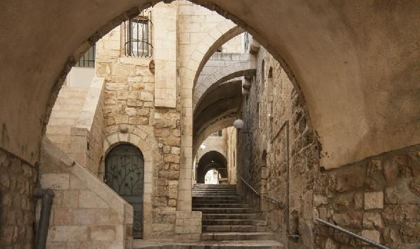 Two Cities One Break - Jerusalem Old city hidden passageway