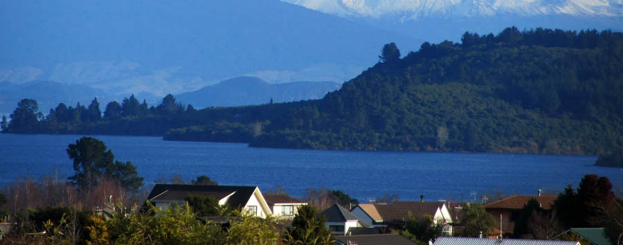 New Zealand - View of Lake Taupo