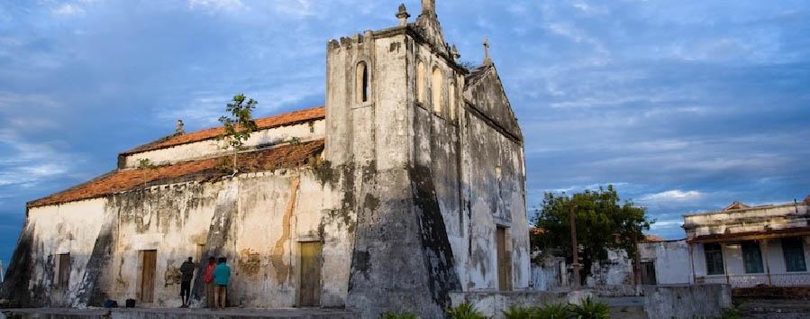 Mozambico da sogno - Mozambique Ibo Island church
