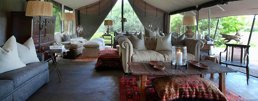 Machaba Camp - Sitting room