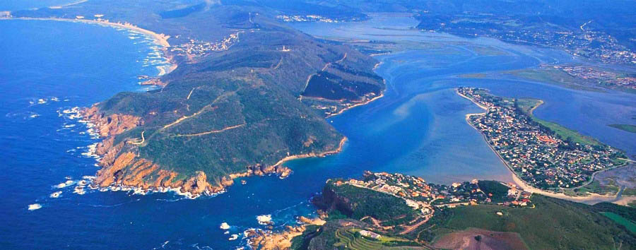 Garden Route Classic - South Africa Knysna Aerial View
