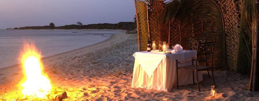 Arcipelago di Bazaruto à la carte - Mozambique Pestana Bazaruto Lodge, Beach Private Dining