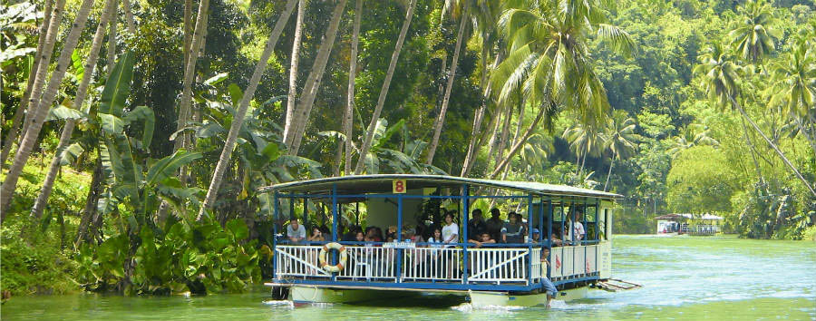 Filippine: Isole Twinning - Twinning Islands Bohol, Loboc River Cruise