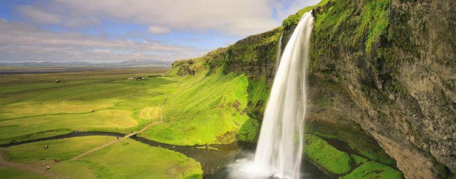 Aurora Boreale in Islanda - Iceland Seljalandsfoss