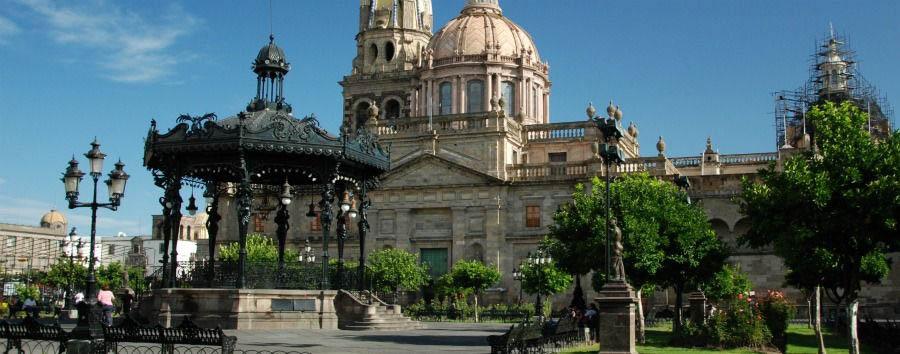 Mexico, Colonial Flavour - Mexico Guadalajara, Cathedral