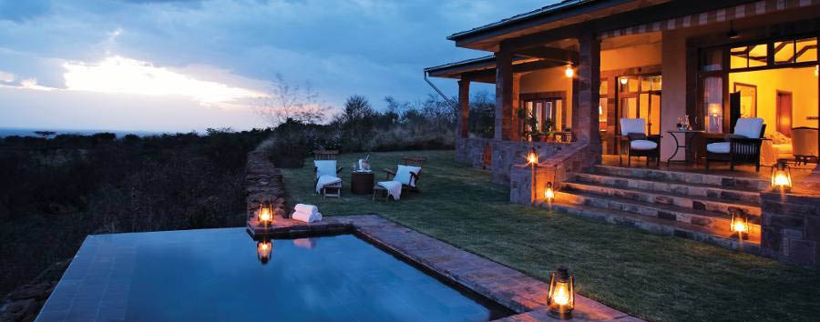 Singita Sasakwa Lodge - Cottage pool