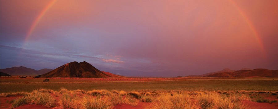 Namibia, dune e Caprivi - Namibia Rainbow in the Namib Desert