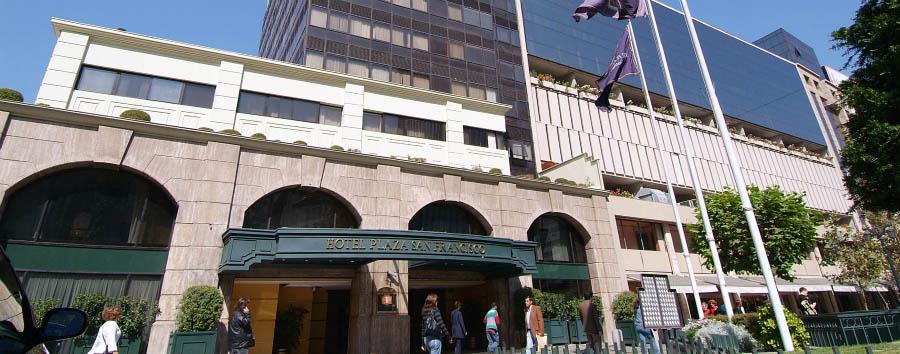 Plaza San Francisco - Hotel entrance