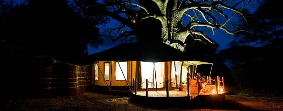 Swala+Camp+-+Room+under+a+baobab