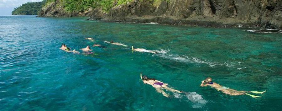 Fiji, mare a Qamea Island - Fiji Qamea Resort & Spa, Snorkeling