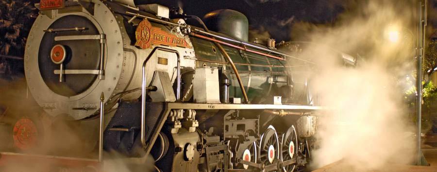 Rovos Rail, da Cape Town a Pretoria - South Africa Rovos Rails steam locomotive