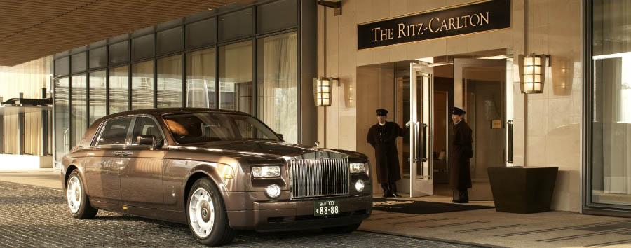The Ritz-Carlton, Tokyo - Entrance