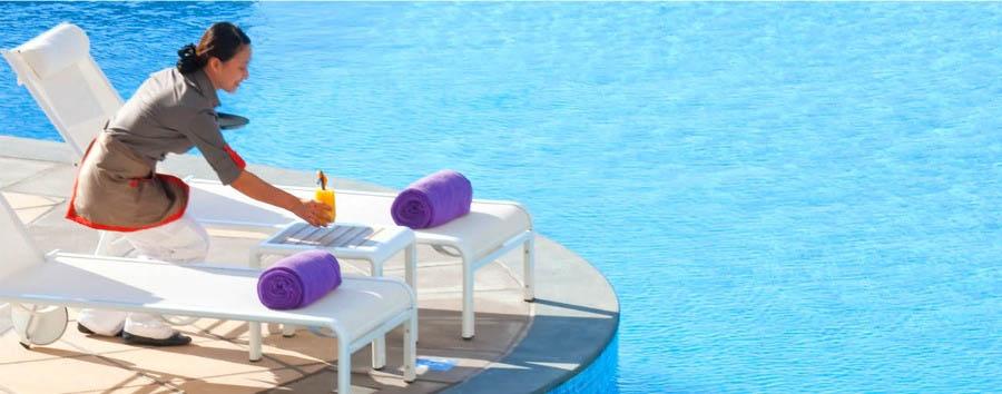 Dubai, mare a Jumeirah Beach - Dubai Mövenpick Jumeirah Beach Hotel, Outdoor Pool