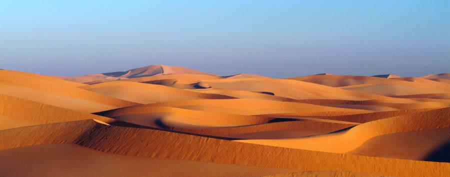 Oman, suggestivo Dhofar - Oman Rub Al Khali desert
