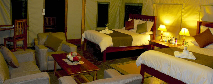 Bomani+Tented+Lodge+-+Spurwing+Twin+Suite+Interior