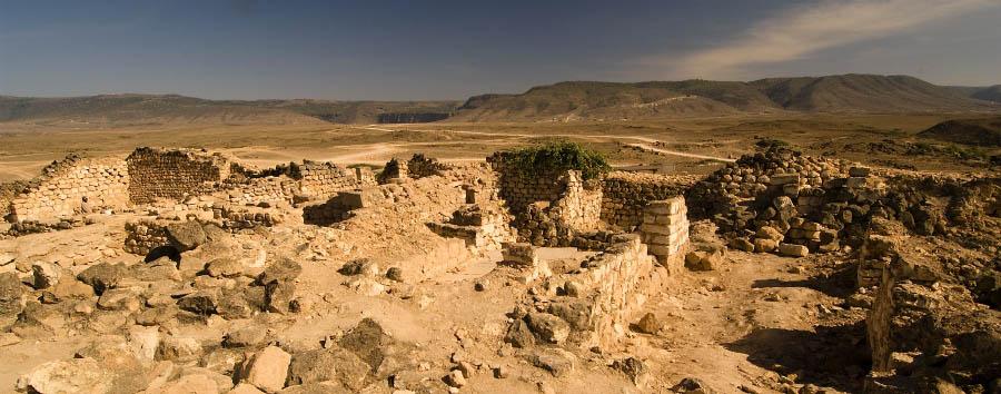 Oman, suggestivo Dhofar - Oman Al Baleed ruines at Salalah, Dhofar