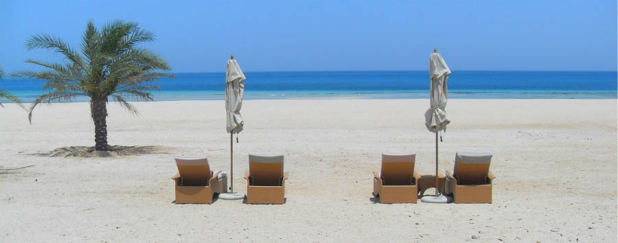 Anantara Sir Bani Yas Island Al Yamm Villa Resort - Beach View