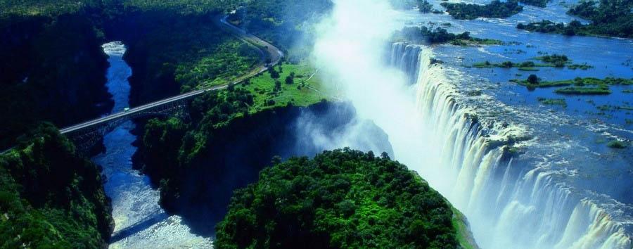 Stupefacente Zimbabwe - Zimbabwe Victoria Falls Aerial View