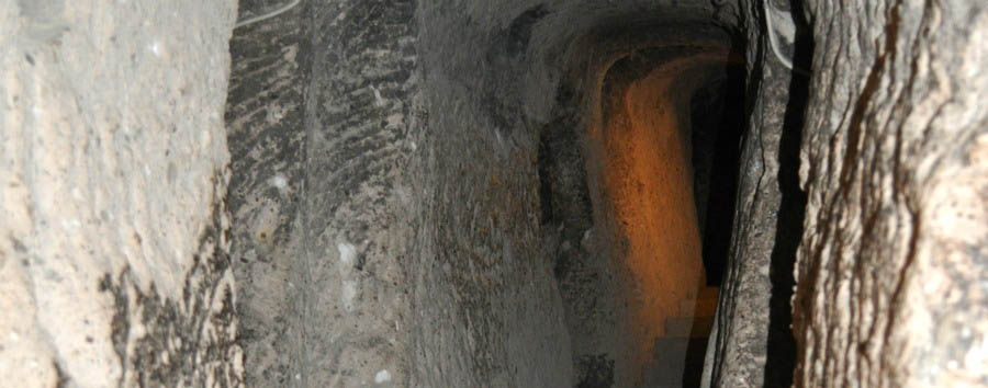 I paesaggi surreali della Cappadocia - Turkey, Cappadocia Kaymakli Underground City