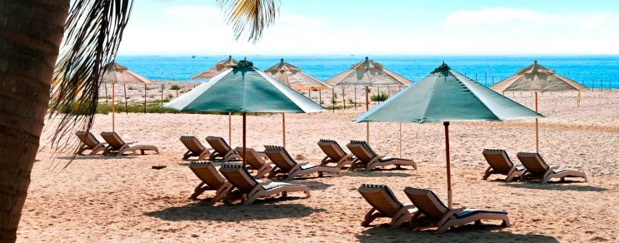 Hilton Salalah - Hotel beach