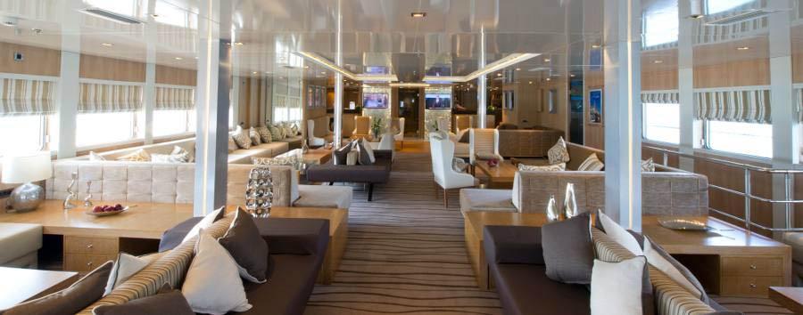 Variety Voyager Mega Yacht - Lounge
