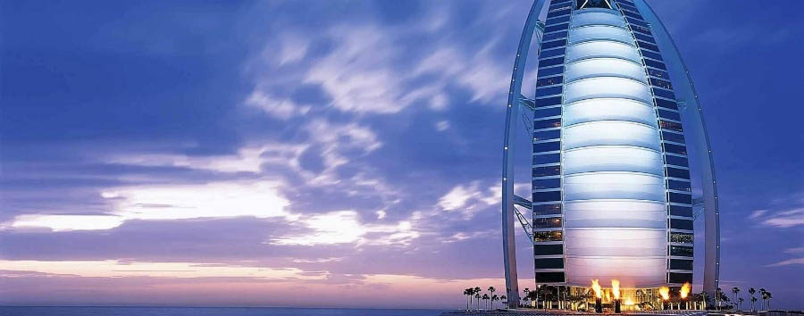 Dubai - View of Burj-Al-Arab
