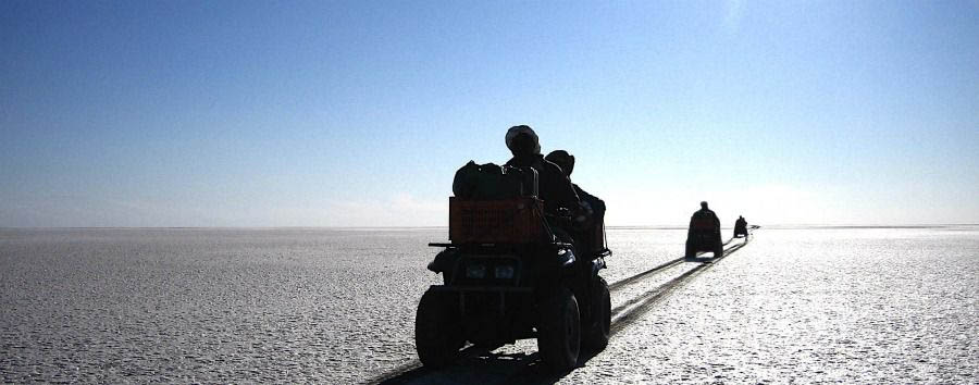 Unique Botswana Experience - Botswana Quad Bike Excursion in The Makgadikgadi Pans