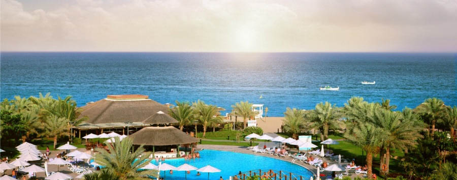 Fujairah, mare ad Al Aqah Beach - Fujairah Rotana Resort & Spa, Aerial View