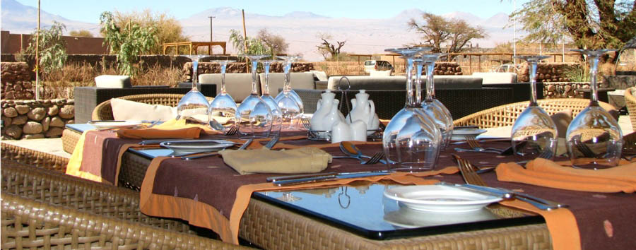 Kunza Hotel & Spa - Restaurant Oasis
