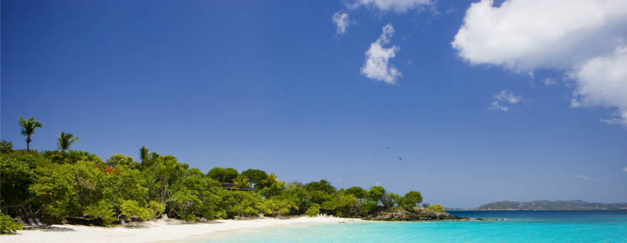 Caraibi: soggiorno a Caneel Bay - Isole Vergini Americane Turtle Bay Beach