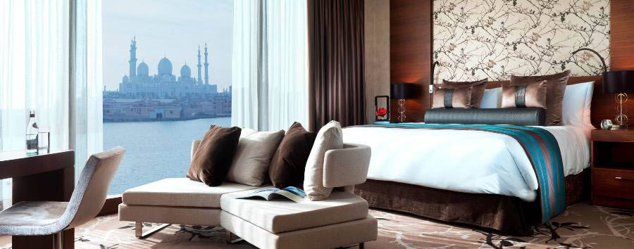 Fairmont Bab Al Bahr - Room with Mosque view