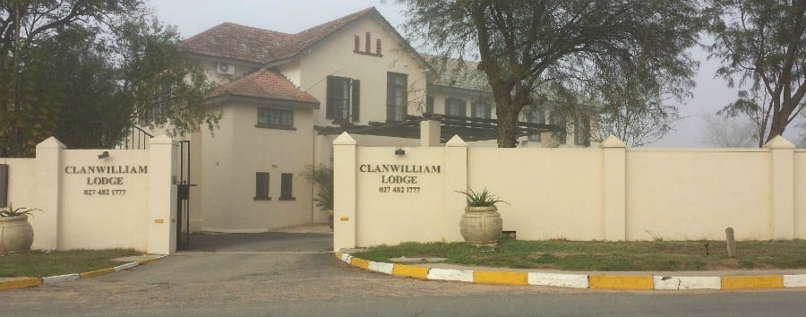 Clanwilliam Lodge - Lodge Entrance