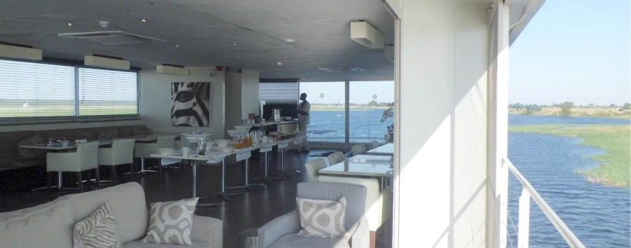 Botswana, Zambezi Queen - Botswana Zambezi Queen, Dining Area