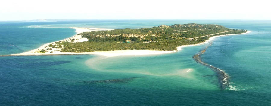 The Aquamarine Paradise - Mozambique Magaruque Island, Aerial View
