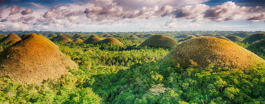 Filippine: Isole Twinning - Twinning Islands Bohol, Chocolate Hills